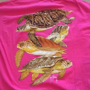 A Guy Harvey Original Punk Turtles T-Shirt